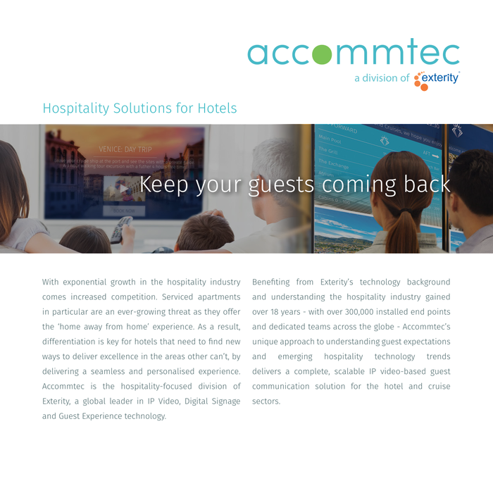 Accommtec Hotel Brochure